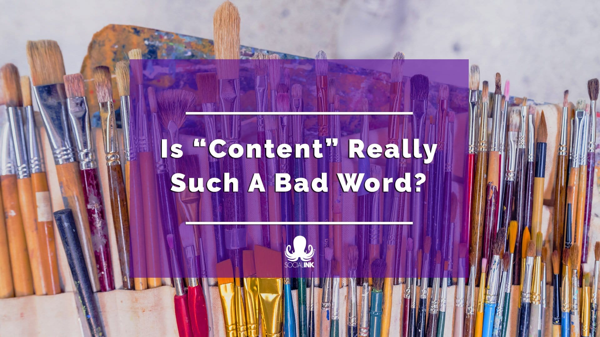 """Is """"Content"""" Really Such A Bad Word?"""