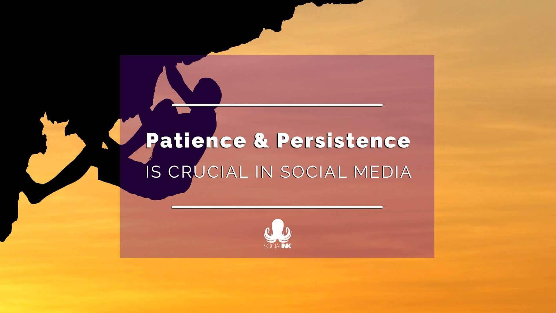 Patience and Persistence are Crucial in Social Media Marketing