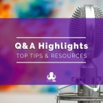 Highlights From Our Q&A: Saving Time, Content Strategy Tips, the State of Influencer Marketing, and More