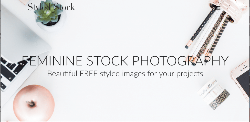 Free Image Sites - Styled Stock