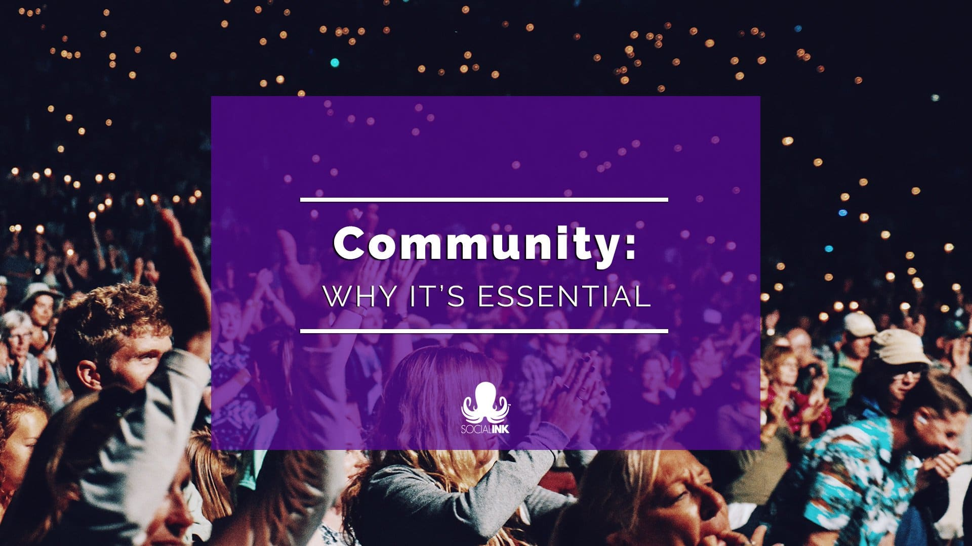 Community-Building Isn't Optional Anymore