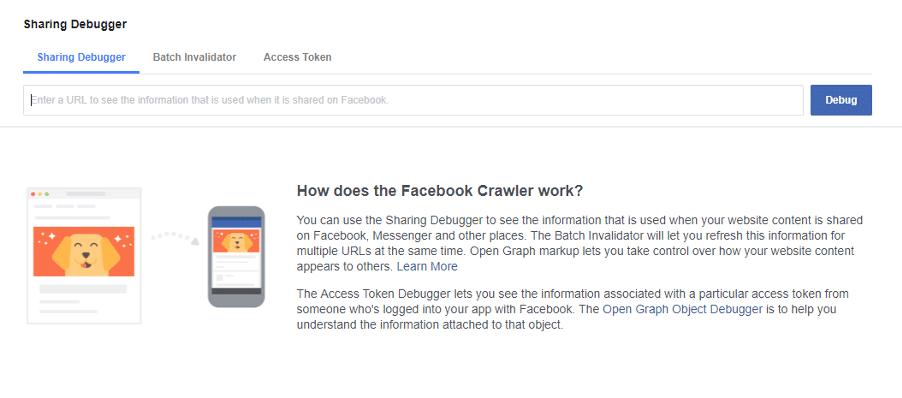 how to fix link previews - FB Debugger
