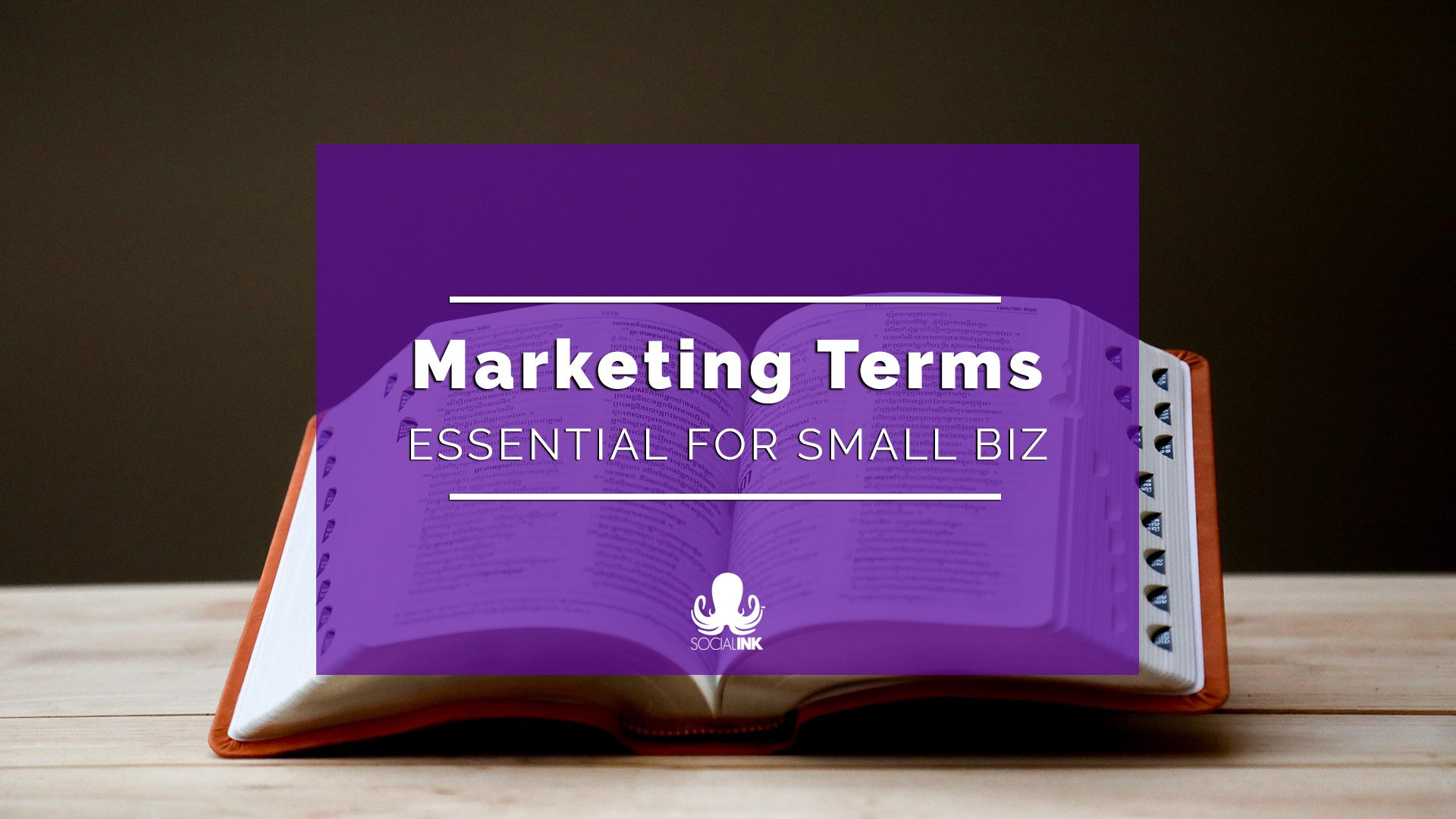 29 Marketing Terms Defined