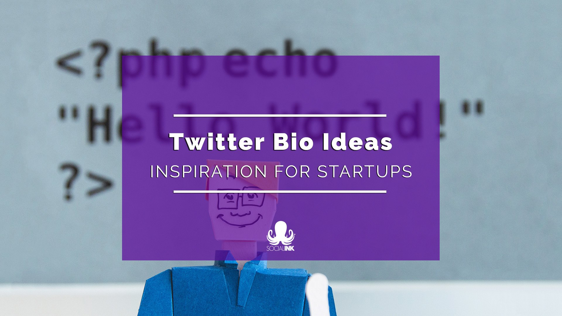 Twitter Bio Ideas for Startups