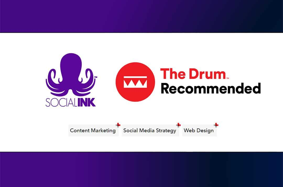 Social INK is a Recommended Agency on The Drum!