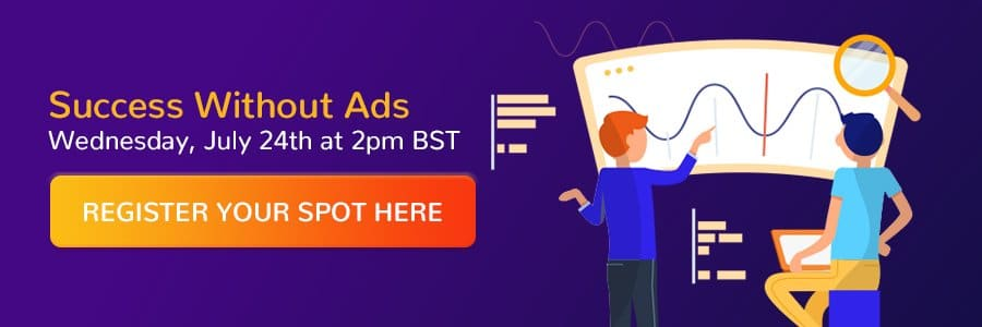 Register for the 'Social Media Success Without Ads' webinar